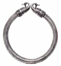 925 Silver Plated Vintage Style Handmade Girl,s Women,s Bangle,Cuff / Bracelet