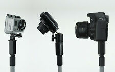 """DIY Boom Painter Extension Pole Adapter for go Video Camera or Shotgun Mic 1/4"""""""
