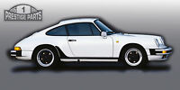 BLACK stoneguard set for Porsche 911 SC genuine OEM quality stone guards