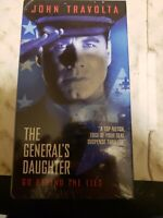The General's Daughter vhs(1999) regular edition brand new sealed rare sealed