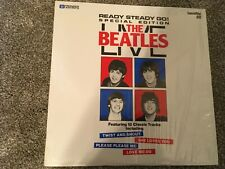 """The Beatles Live Ready Steady Go! 8"""" Laserdisc LD Twist And Shout"""