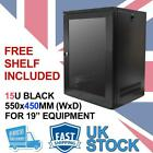 """15U 19"""" 450MM Network Cabinet Data Comms Wall Rack for Patch Panel, Switch, PDU"""
