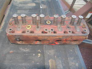 International IH Farmall Tractor Engine Head H 8776-DA