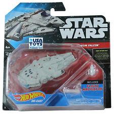 Action Figure Mattel Hot Wheels Star Wars Navicella Nave Millennium Falcon