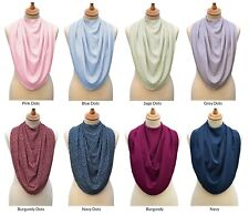 Care Designs - Pashmina Scarf Style Clothing Protector / Special Needs Adult Bib