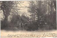 77 - cpa - LA CHAPELLE GAUTHIER - Forêt de Villefermoy - Fontaine Sainte Anne