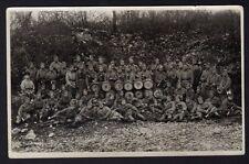 █ Carte photo Fanfare Militaire Groupe de soldats à identifier Tambours Clairons