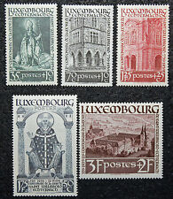 LUXEMBOURG timbres/Stamps Yvert et Tellier n°300 à 305 n** (cyn8)