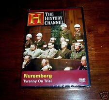 NUREMBURG Nazi Germany German WWII WW2 Crimes Holocaust History Channel DVD NEW