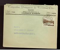 1949 Mozambique Ferragens Commercial cover to USA