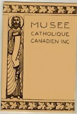 Musee Catholique Canadien Inc. Vintage Catholic Book Religious Religion