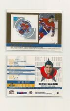 2003 Pacific & Canada Post NHL All-Star Game Stamp/Card #21 Serge Savard