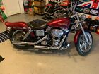 2004 Harley-Davidson Dyna  2004 Harley-Davidson Dyna FXDLI Red