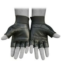 BUKA LEATHER WEIGHT LIFTING GLOVES PADDED GYM BODY BUILDING FITNESS BODYBUILDING
