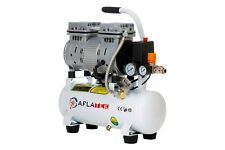 Aflatek Silent 10l Air Compressor, Oil free, Low noise 66 dB, Portable, Medical