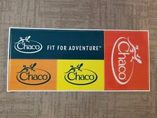 4 Chaco stickers decals Fit For Adventure
