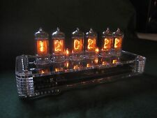 PV Electronics QTC Nixie Clock with German Z570 Tubes + PLEXI case + PSU 4of5