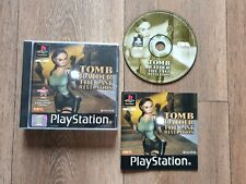 Tomb Raider: The Last Revelation (PlayStation 1, 1999) BLACK LABEL