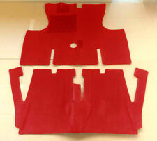 Darkred Velours Carpet Set for Renault Caravelle Cabrio Baujahr 1959-1968