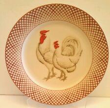 One Basic Porcelana Rooster & Hen Dinner Plate Home Essentials & Beyond