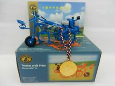 COLLECTOR'S CLUB 1:20 Blue TRACTOR w/PLOW Model GN-12K *NEVER OPENED* NIB
