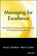 Managing for Excellence P (Wiley Management Classic)-ExLibrary