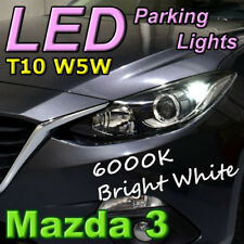 #M13 Pair of T10 W5W White LED Bulbs to fit Mazda 3 (BM) Parking Lights Parker