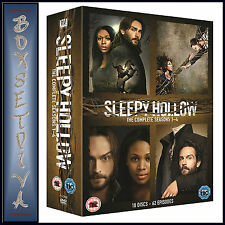 SLEEPY HOLLOW - COMPLETE SEASONS 1 2 3 & 4   **BRAND NEW DVD BOXSET***