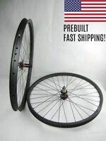 29er Tubeless Wheelset Wheels Carbon MTB 30mm or 35mm, TA or Boost, XD