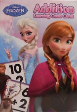 Cards Learning Addition DISNEY FROZEN Elsa Anna Olaf Game Educational Deck NEW