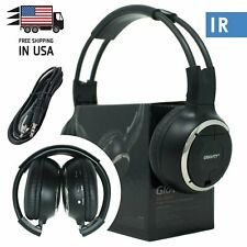 New Infrared Wireless Single Channel For Car DVD MP3 IR Headphone Headset 50WH
