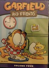 Garfield and Friends - Volume 4 (DVD, 2005, 3-Disc Set) SEALED free shipping