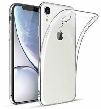 Apple iPhone XR Schutzhülle Silikon Ultraslim Cover Bumper Transparent Case Klar