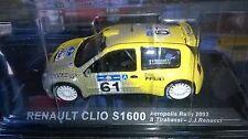 RALLY ACRÓPOLIS RENAULT CLIO S 1600 De 2003 Nuevo en caja