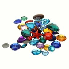 Acrylic Gemstones Creation Station 500g Approx 800 Assorted Color CT2270