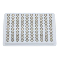 100 x 1.55V SR626SW AG4 377 LR626 Alkaline Button Cell Watch Battery Batteries