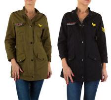 Militär-hüftlange Damenjacken & -mäntel in Übergröße