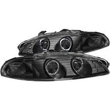 Headlight Set-Projector w/2 Halos ANZO 121365