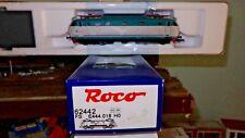 ROCO 62442 E444 018 XMPR2 Trenitalia, griglie e finestrini modificati, SCMT, FS