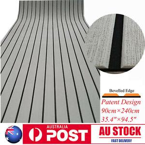 EVA Boat Flooring Marine Teak Decking For Yacht Carpet Light Grey 90×240cm