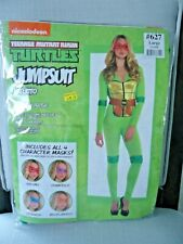 TMNT Teenage Mutant Ninja Turtles Adult Medium Womens JUMPSUIT costume NEW