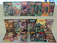 Dagar the Invincible 1-19 + Gold Spotlight 6 COMPLETE SET Nice! Comics (s 10871)