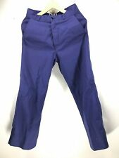 """LA FILEUSE""Pantalon de bleu de travail état neuf , indigo , usine , loft"
