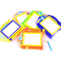 Educational Kids Doodle Toys Erasable Magnetic Drawing Board + Pen Xmas Gift#L
