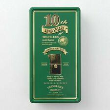 Travelers Factory Midori Travelers Notebook Mini 10th Anniversary Can Set Green