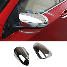 Fit For 2014- Toyota Corolla Altis Chrome Door Side Mirror Rear View Trim Cover