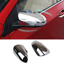 Fit For Toyota Corolla Altis 2014- Chrome Door Side Mirror Rear View Trim Cover