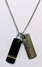 Diesel Mens Jewelry Stainless Steel Necklace