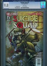 Suicide Squad #2   (New 52)  CGC 9.8  White Pages