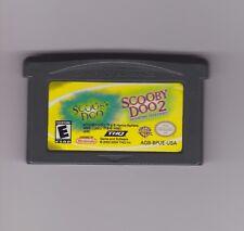 SCOOBY DOO + SCOOBY DOO 2 - Game Boy Advance Gba - Vers. Americana CARTUCCIA FE